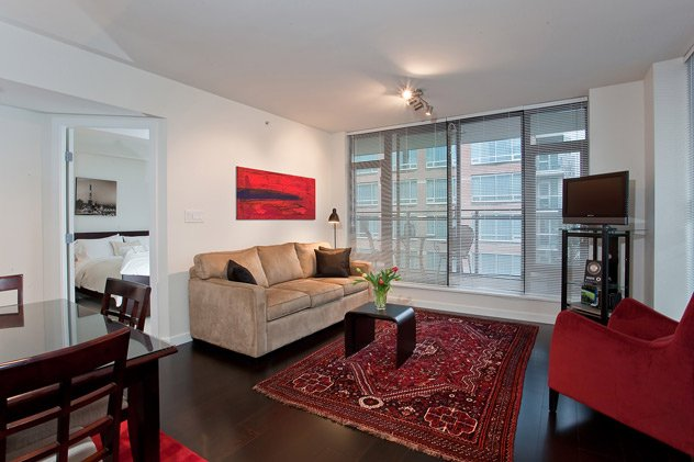"""Photo 9: Photos: 1007 788 RICHARDS Street in Vancouver: Downtown VW Condo for sale in """"L'HERMITAGE"""" (Vancouver West)  : MLS®# V815597"""