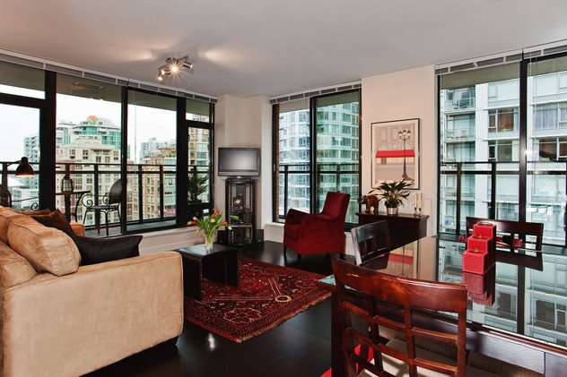 """Photo 8: Photos: 1007 788 RICHARDS Street in Vancouver: Downtown VW Condo for sale in """"L'HERMITAGE"""" (Vancouver West)  : MLS®# V815597"""