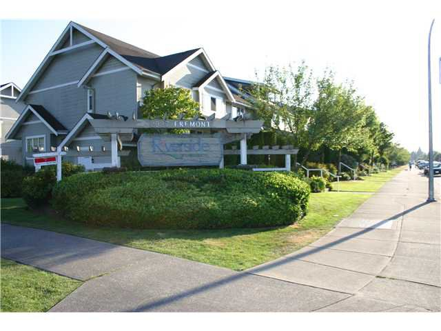 "Main Photo: 44 2927 FREMONT Street in Port Coquitlam: Riverwood Townhouse for sale in ""RIVERSIDE TERRACE"" : MLS®# V843486"