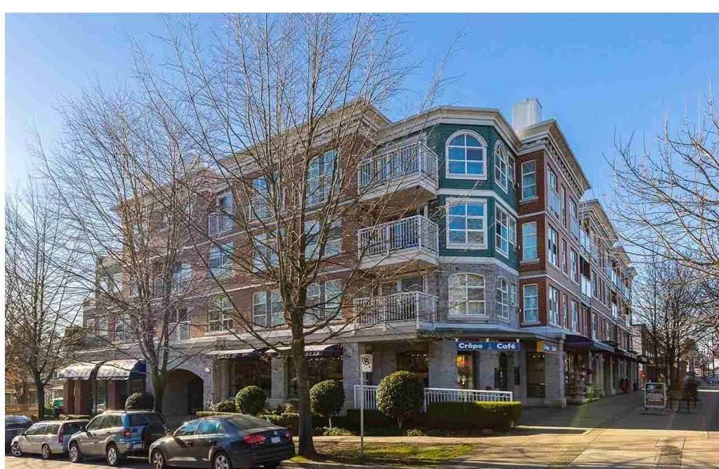 "Main Photo: 401 5723 COLLINGWOOD Street in Vancouver: Southlands Condo for sale in ""CHELSEA AT SOUTHLANDS"" (Vancouver West)  : MLS®# R2418884"