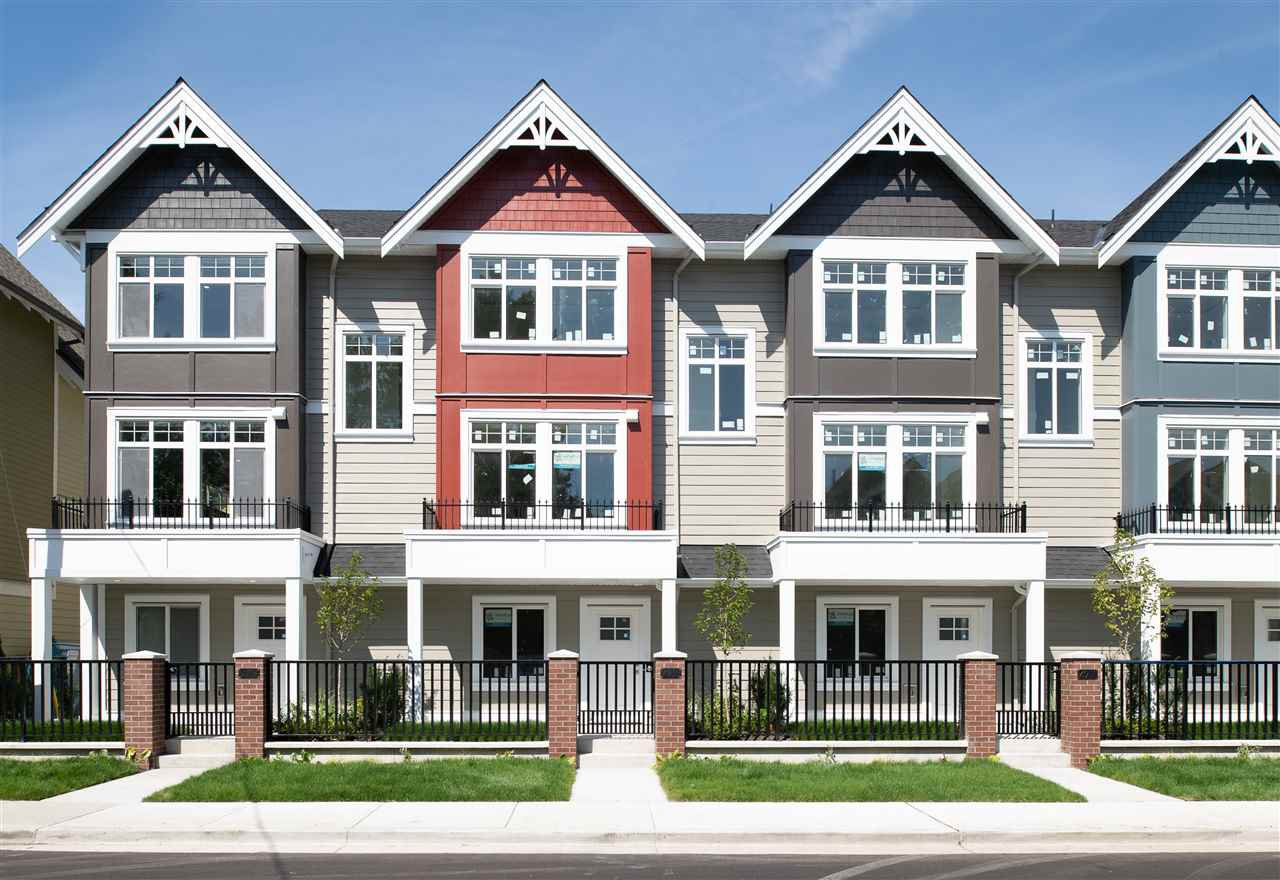 """Main Photo: 4915 47A Avenue in Delta: Ladner Elementary Townhouse for sale in """"AURA"""" (Ladner)  : MLS®# R2466465"""