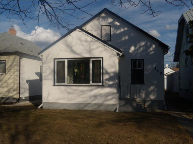 Main Photo: 443 Seymour Street in WINNIPEG: North End Residential for sale (North West Winnipeg)  : MLS®# 1005719