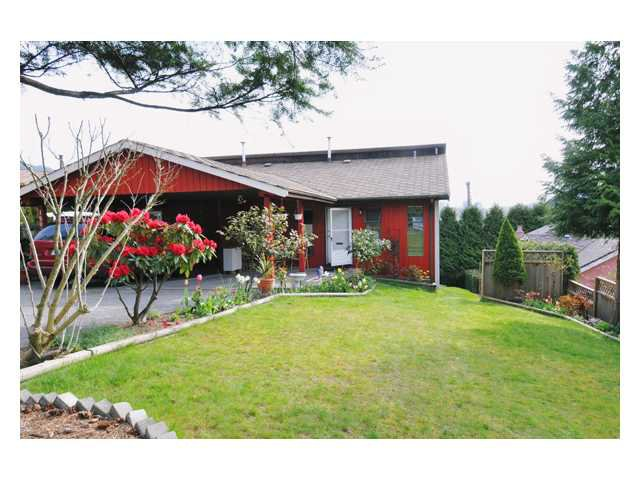 Main Photo: 1805 VIEW Street in Port Moody: Port Moody Centre House 1/2 Duplex for sale : MLS®# V829032