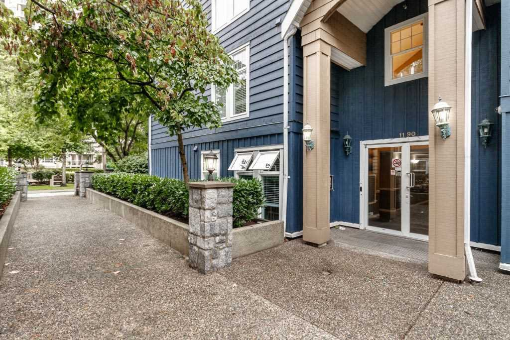 """Main Photo: 110 1190 EASTWOOD Street in Coquitlam: North Coquitlam Condo for sale in """"LAKESIDE TERRACE"""" : MLS®# R2406766"""