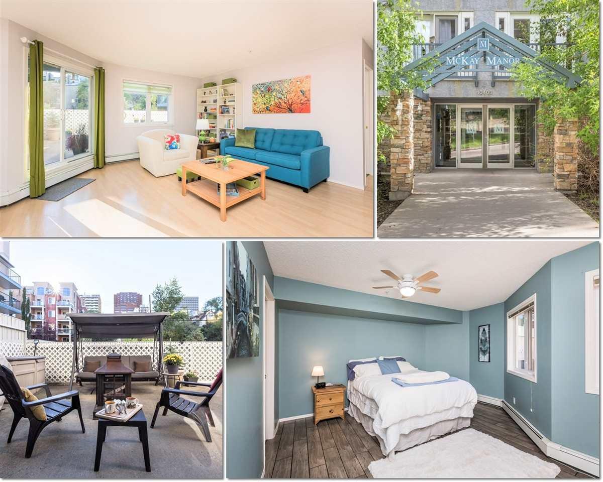 Main Photo: 115 10403 98 Avenue in Edmonton: Zone 12 Condo for sale : MLS®# E4214171