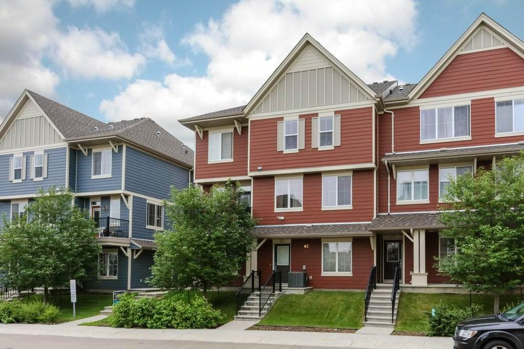 Main Photo: 161 603 WATT Boulevard in Edmonton: Zone 53 Townhouse for sale : MLS®# E4166064