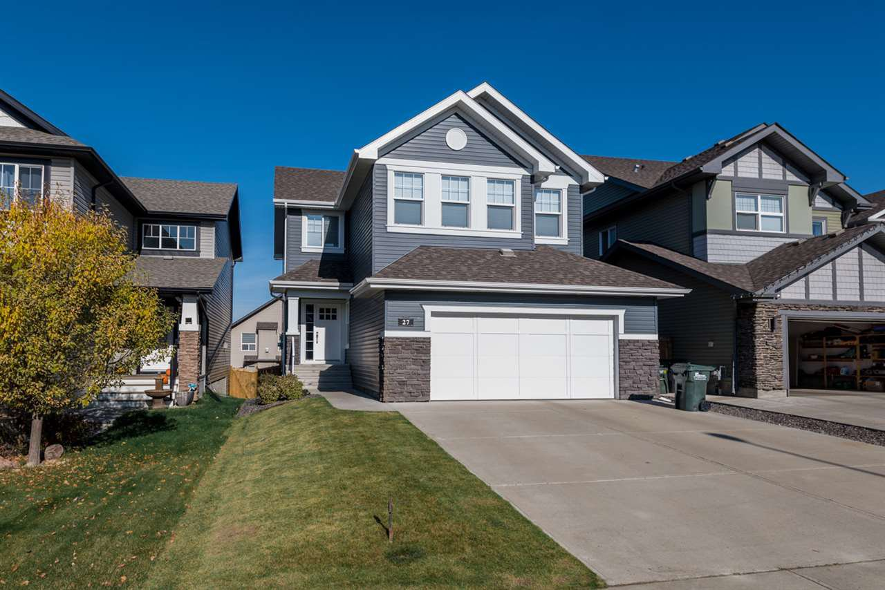 Main Photo: 27 CODETTE Way: Sherwood Park House for sale : MLS®# E4176966