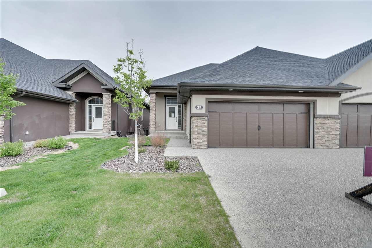 Main Photo: 41 20425 93 Avenue in Edmonton: Zone 58 House Half Duplex for sale : MLS®# E4202780