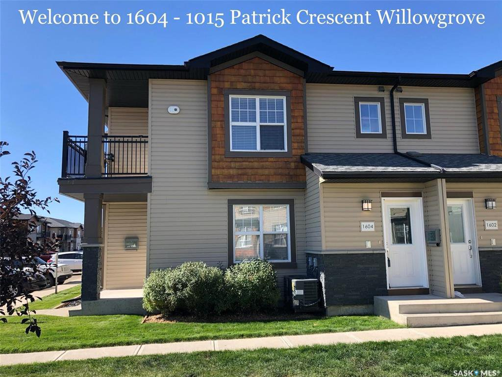 Main Photo: 1604 1015 Patrick Crescent in Saskatoon: Willowgrove Residential for sale : MLS®# SK837311