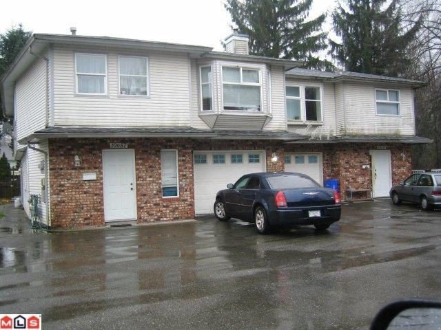 Main Photo: 10657 144TH Street in Surrey: Whalley House Duplex for sale (North Surrey)  : MLS®# F1102931