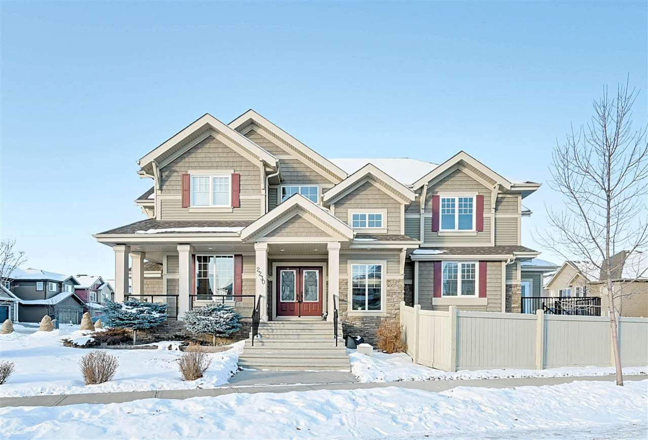 Main Photo: 2230 CAMERON RAVINE Court in Edmonton: Zone 20 House for sale : MLS®# E4183846