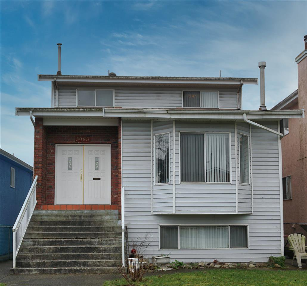 Main Photo: 3088 E 6TH Avenue in Vancouver: Renfrew VE House for sale (Vancouver East)  : MLS®# R2524284