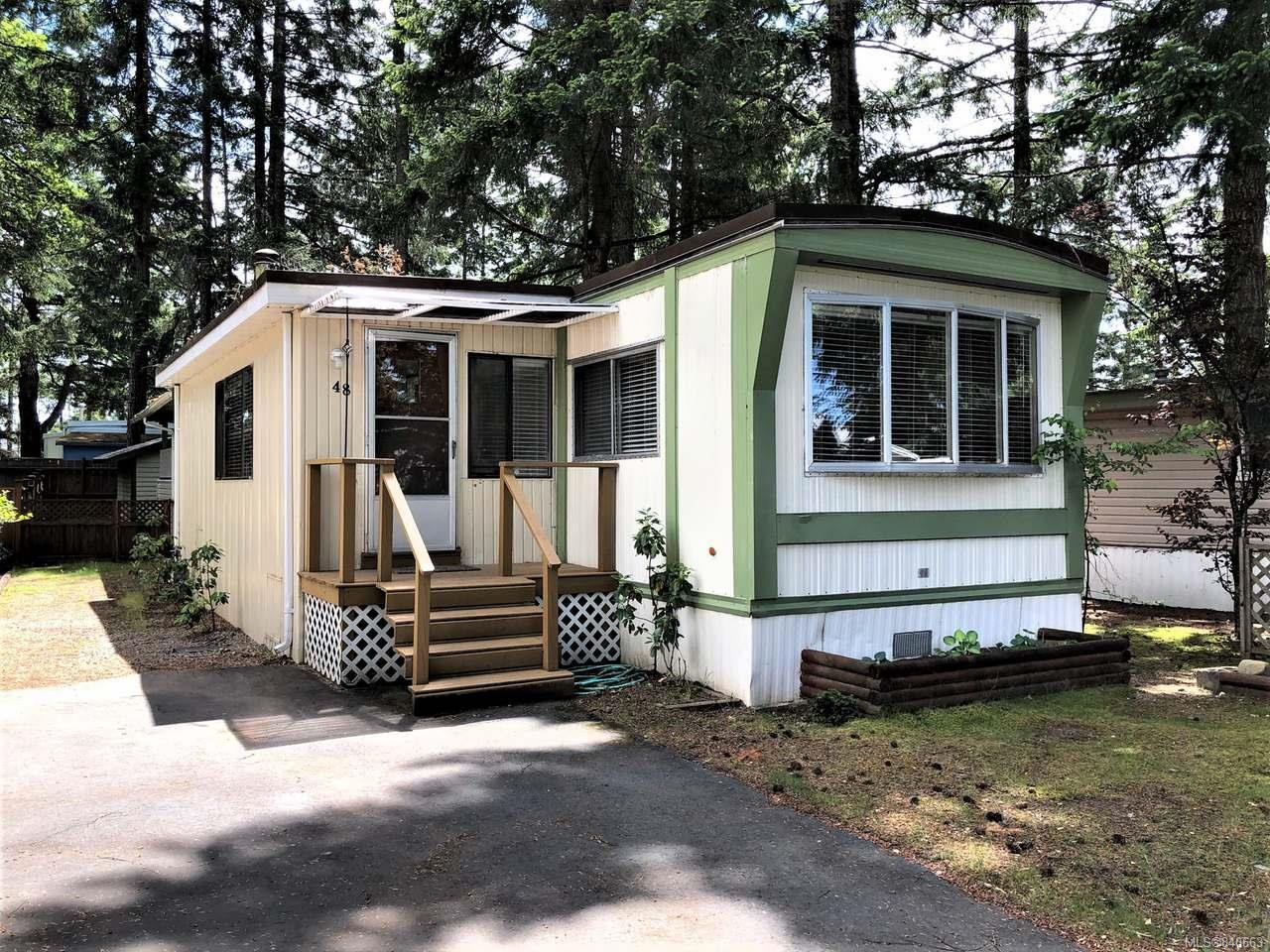 Main Photo: 48 1247 Arbutus Rd in PARKSVILLE: PQ Parksville Manufactured Home for sale (Parksville/Qualicum)  : MLS®# 840663