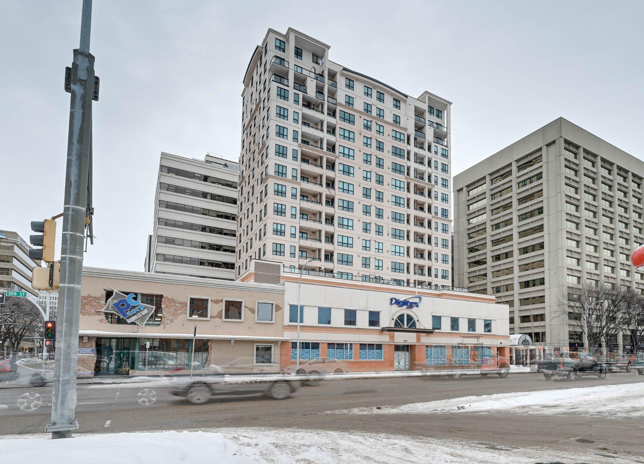 Main Photo: #1205, 9939 109St in Edmonton: Downtown Condo for sale : MLS®# E4187756