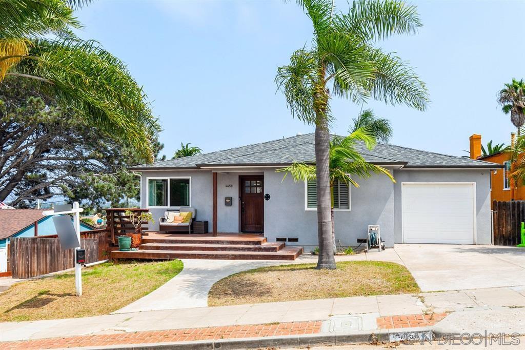 Main Photo: OCEAN BEACH House for sale : 3 bedrooms : 4458 Muir Ave in San Diego