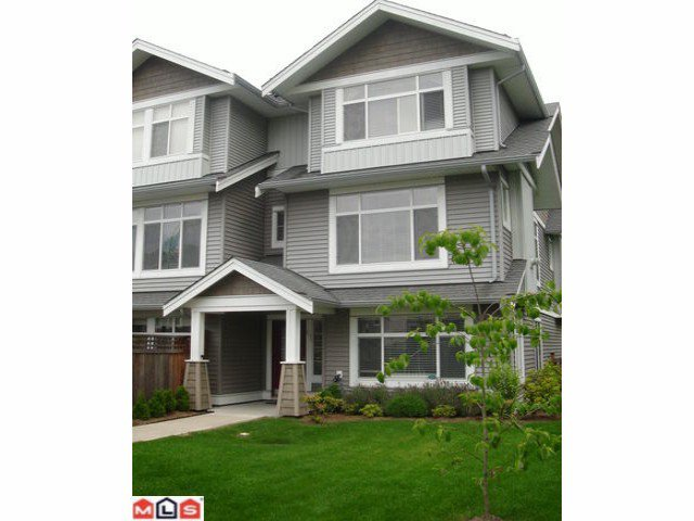 "Main Photo: 61 19330 69TH Avenue in Surrey: Clayton Townhouse for sale in ""MONTEBELLO"" (Cloverdale)  : MLS®# F1018264"