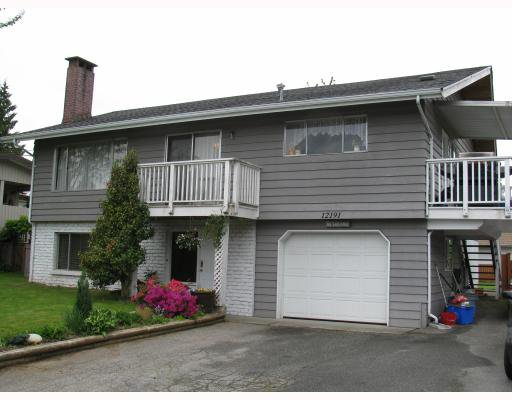 Main Photo: 12191 DUNBAR Street in Maple_Ridge: West Central House for sale (Maple Ridge)  : MLS®# V767602