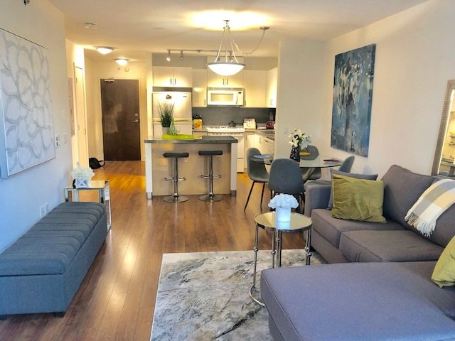 """Main Photo: 304 175 W 1ST Street in North Vancouver: Lower Lonsdale Condo for sale in """"TIME"""" : MLS®# R2421607"""