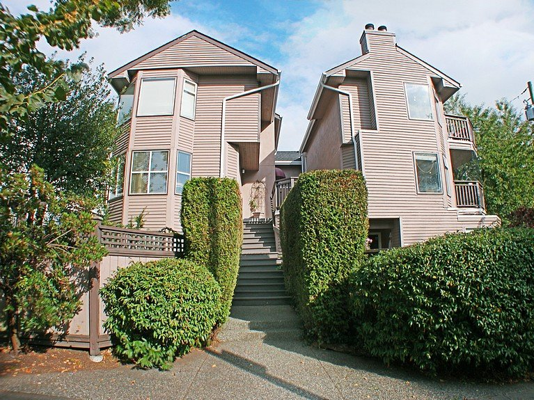 Photo 1: Photos: 8672 SW MARINE Drive in Vancouver: Marpole Townhouse for sale (Vancouver West)  : MLS®# V789020