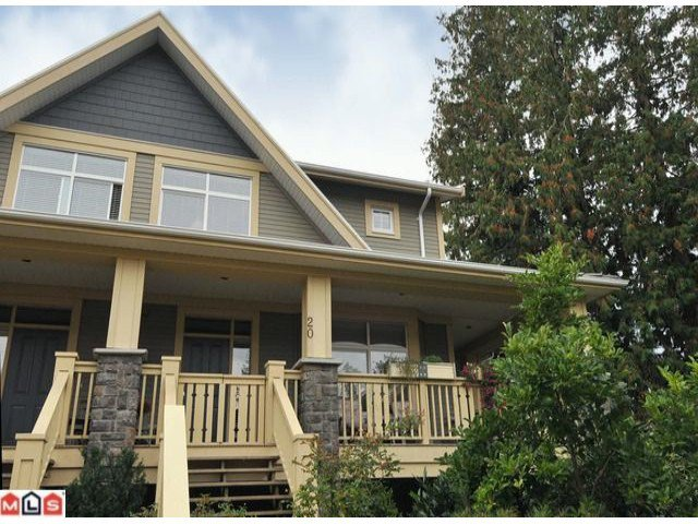 """Main Photo: 20 15255 36TH Avenue in Surrey: Morgan Creek Townhouse for sale in """"Ferngrove"""" (South Surrey White Rock)  : MLS®# F1017006"""