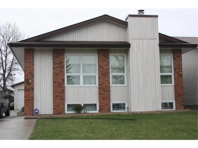 Main Photo: 16 Harold Piercy Place in WINNIPEG: North Kildonan Residential for sale (North East Winnipeg)  : MLS®# 1008047
