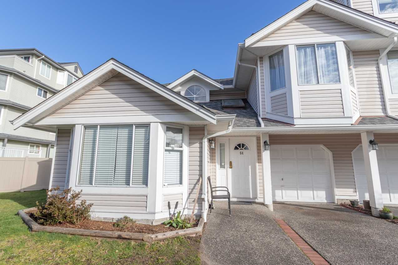 Main Photo: 64 7955 122 Street in Surrey: West Newton Townhouse for sale : MLS®# R2443312