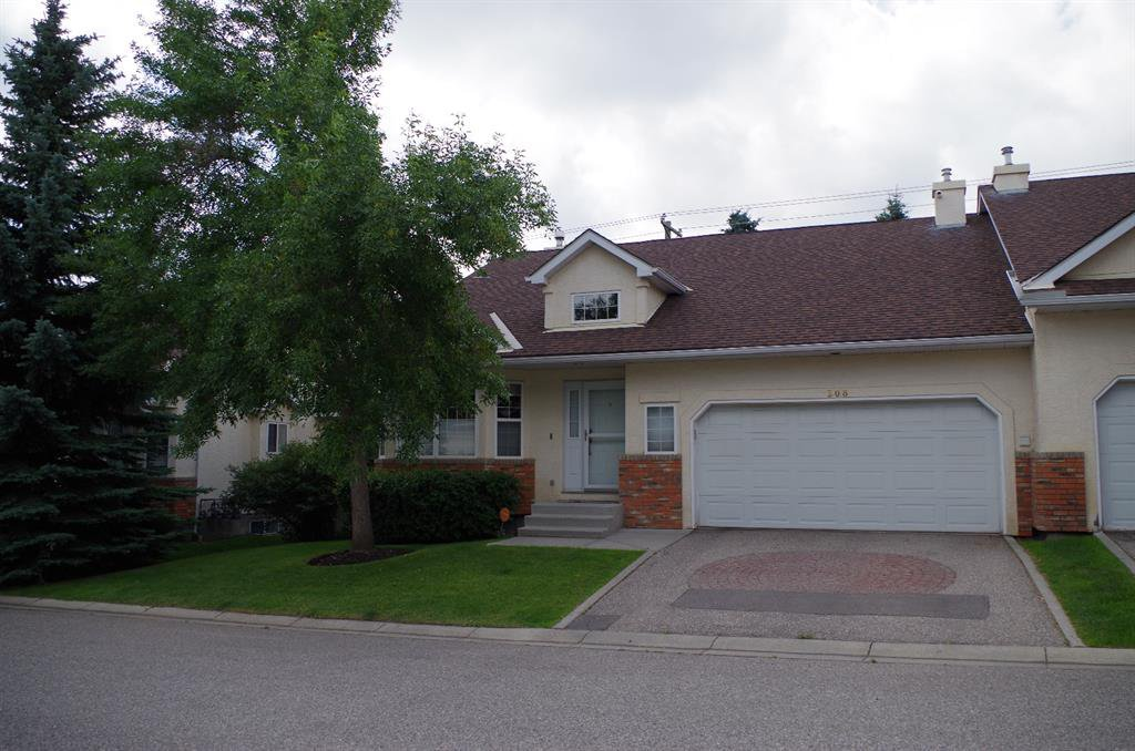 Main Photo: 308 PROMINENCE Heights SW in Calgary: Patterson Semi Detached for sale : MLS®# A1037279