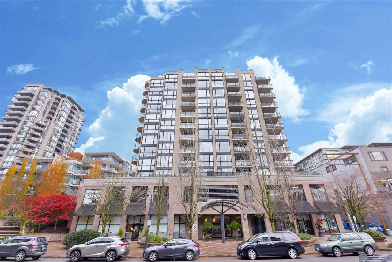 "Main Photo: 507 124 W 1ST Street in North Vancouver: Lower Lonsdale Condo for sale in ""THE ""Q"""" : MLS®# R2509553"