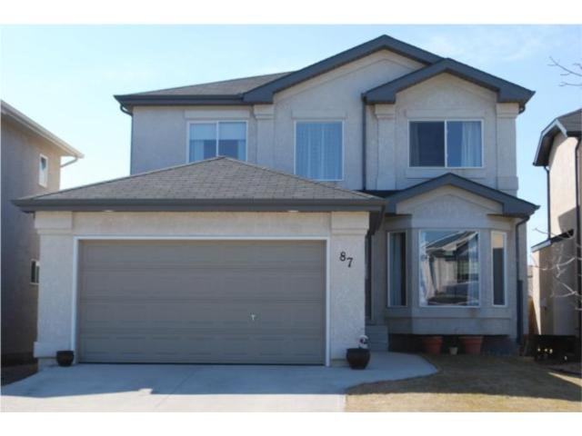 Main Photo: 87 William Gibson Bay in WINNIPEG: Transcona Residential for sale (North East Winnipeg)  : MLS®# 1006181