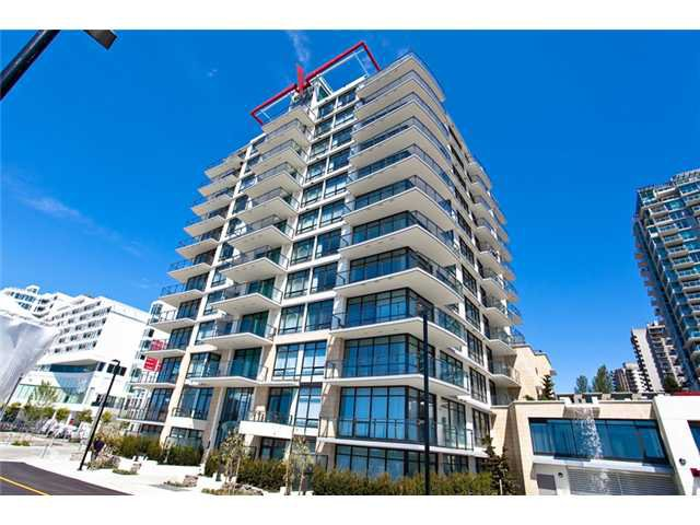 "Main Photo: 1104 162 VICTORY SHIP Way in North Vancouver: Lower Lonsdale Condo for sale in ""ATRIUM WEST AT THE PIER"" : MLS®# V857807"