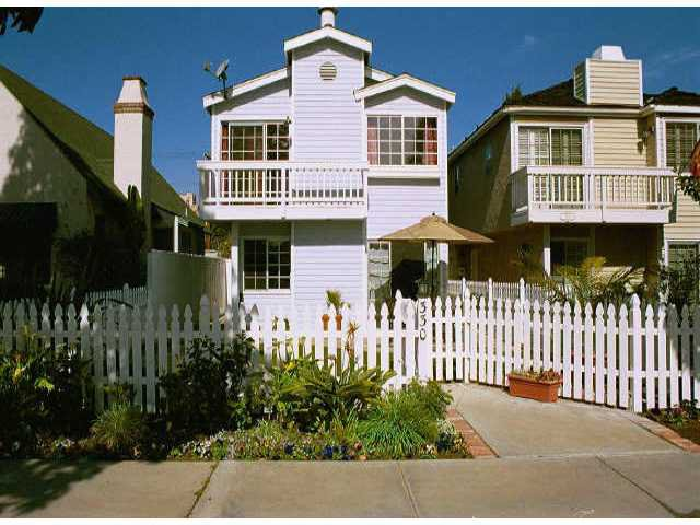 Main Photo: CORONADO VILLAGE Residential for sale : 4 bedrooms : 330 B Avenue in Coronado
