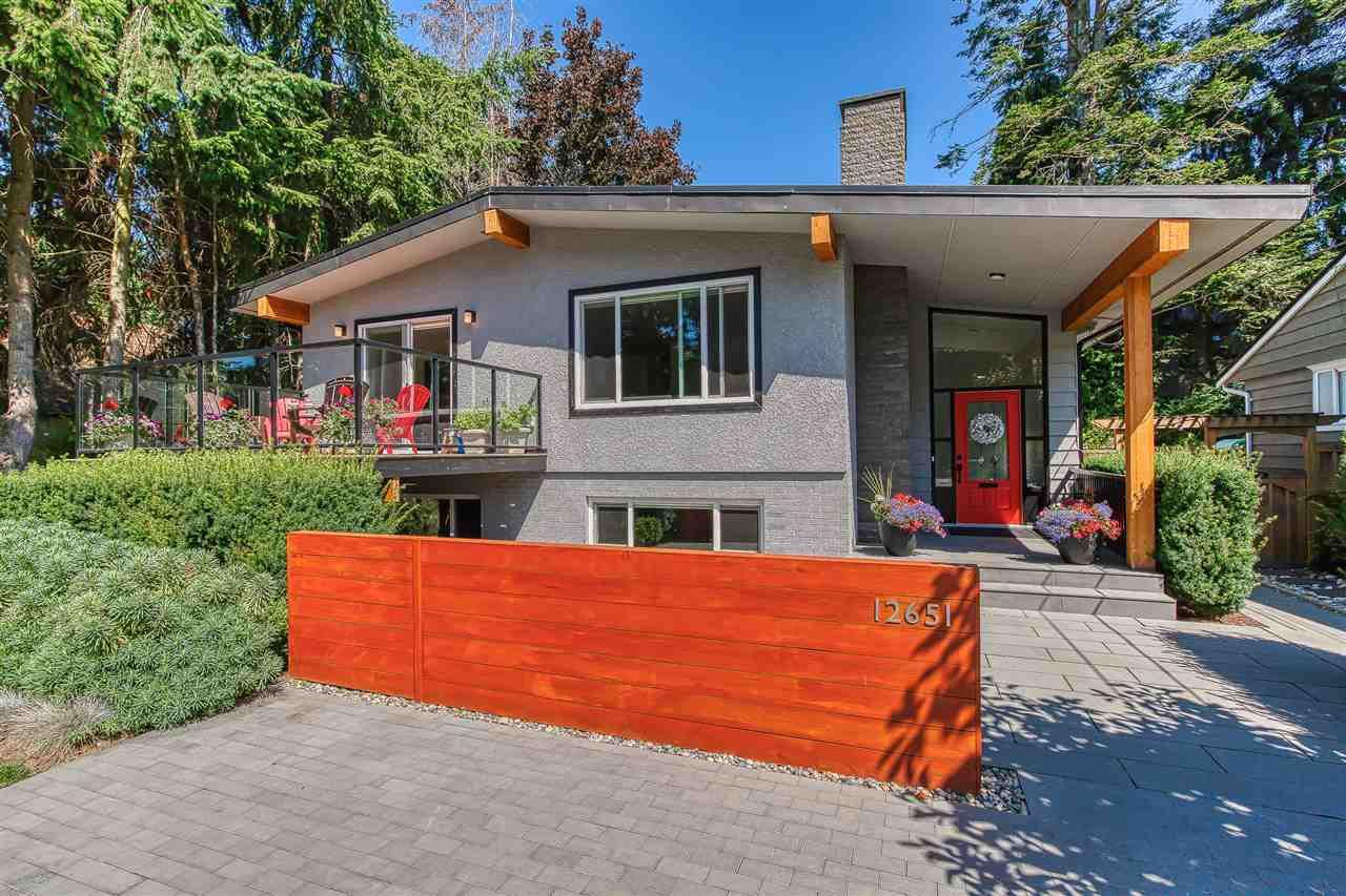 Main Photo: 12651 15 Avenue in Surrey: Crescent Bch Ocean Pk. House for sale (South Surrey White Rock)  : MLS®# R2390447