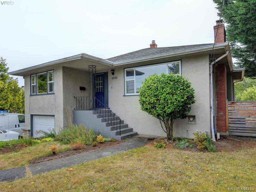 Main Photo: 4105 Glanford Ave in VICTORIA: SW Glanford Single Family Detached for sale (Saanich West)  : MLS®# 821592