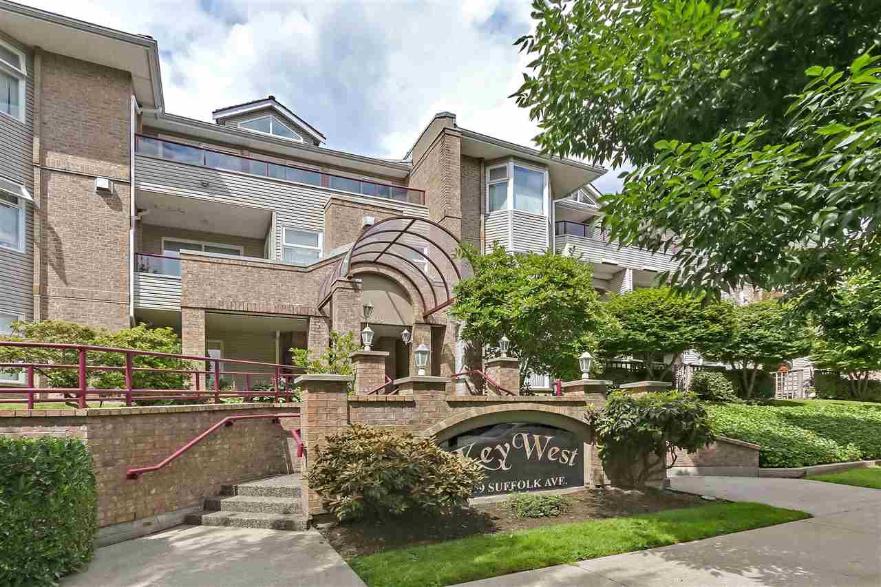 Main Photo: 109 1999 SUFFOLK AVENUE in Port Coquitlam: Glenwood PQ Condo for sale : MLS®# R2383750