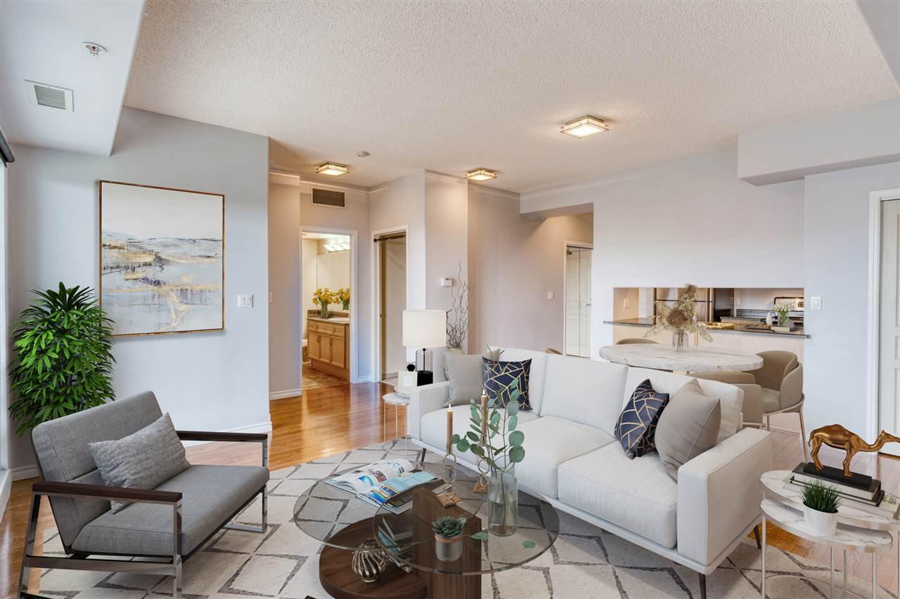 Main Photo: 907 10319 111 Street in Edmonton: Zone 12 Condo for sale : MLS®# E4211853