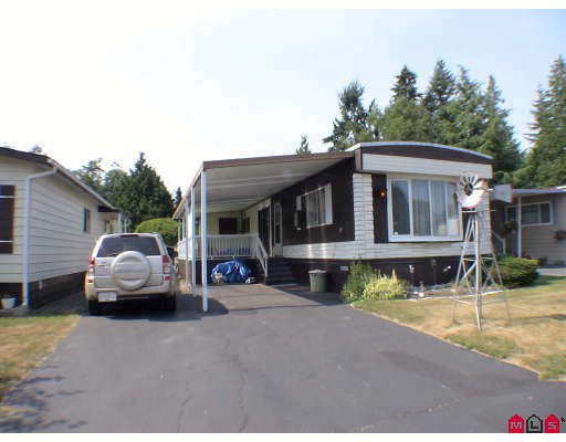 "Main Photo: 159 3665 244TH Street in Langley: Otter District Manufactured Home for sale in ""LANGLEY GROVE ESTATES"" : MLS®# F2914195"