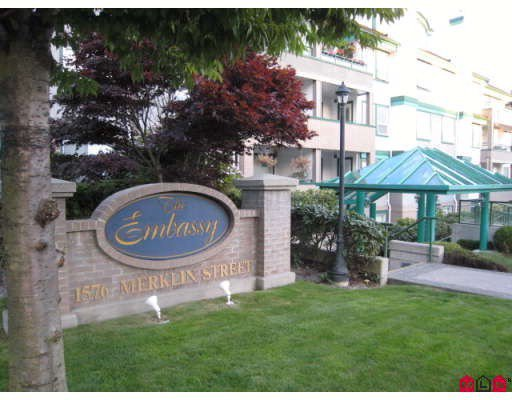 "Main Photo: 214 1576 MERKLIN Street: White Rock Condo for sale in ""THE EMBASSY"" (South Surrey White Rock)  : MLS®# F2915982"