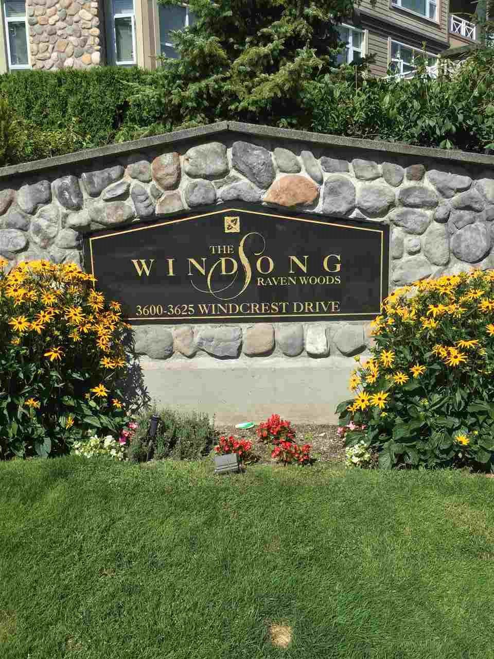 """Main Photo: 414 3600 WINDCREST Drive in North Vancouver: Roche Point Condo for sale in """"Windsong"""" : MLS®# R2477168"""