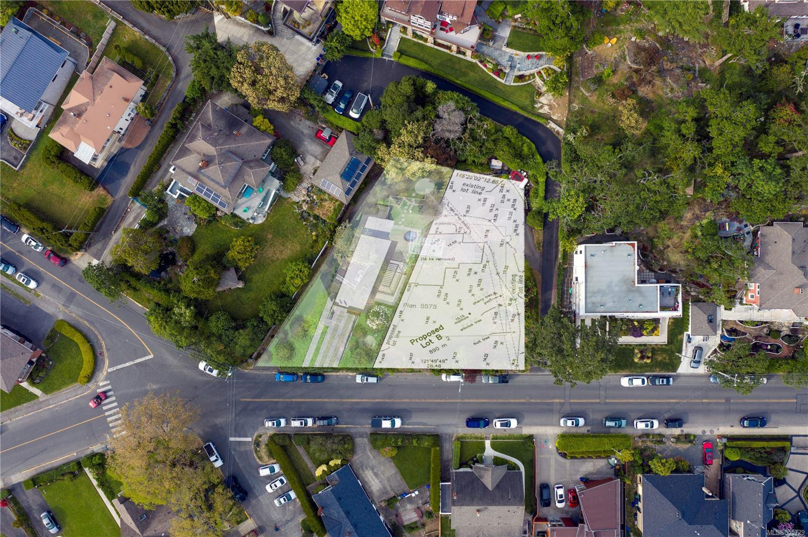 Main Photo:  in : OB Gonzales Land for sale (Oak Bay)  : MLS®# 855729