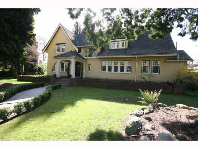 Main Photo: 1504 BALFOUR Avenue in Vancouver: Shaughnessy House for sale (Vancouver West)  : MLS®# V816813