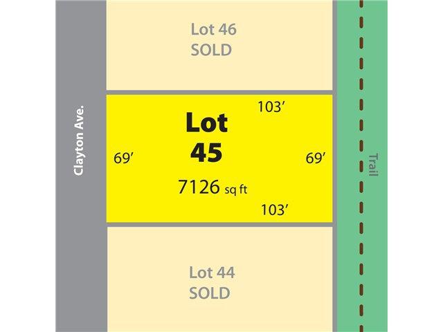 "Main Photo: # LOT 45 CLAYTON AV in Sechelt: Sechelt District Land for sale in ""TRAIL BAY ESTATES"" (Sunshine Coast)  : MLS®# V837940"