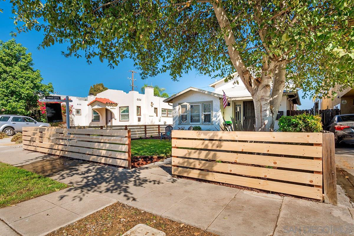 Main Photo: NORMAL HEIGHTS Property for sale: 4411-4413 39th St in San Diego