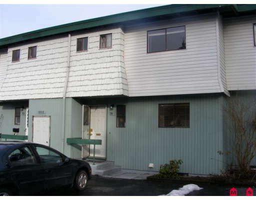 "Main Photo: 78 10818 152ND Street in Surrey: Bolivar Heights Townhouse for sale in ""WOODBRIDGE ESTATES"" (North Surrey)  : MLS®# F2901910"