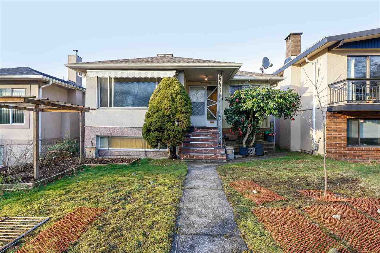 Main Photo: 2451 McGill Street in Vancouver: Hastings Sunrise House for sale (Vancouver East)  : MLS®# R2438285