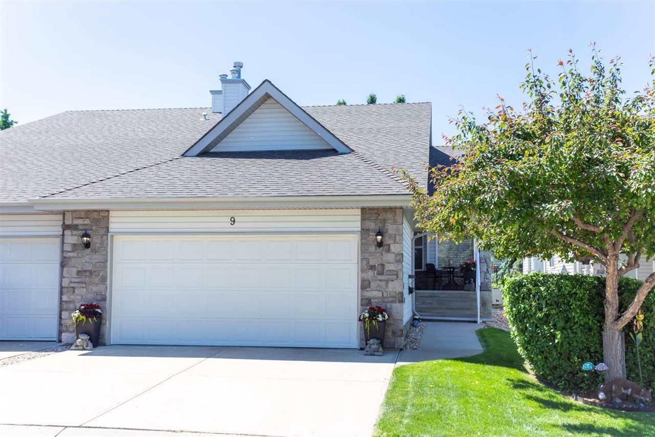 Main Photo: 9 330 Galbraith Close in Edmonton: Zone 58 House Half Duplex for sale : MLS®# E4211950