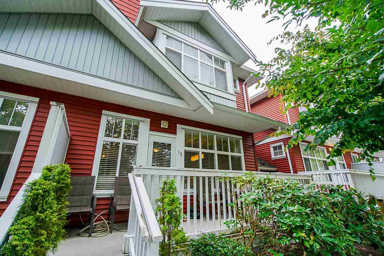 """Main Photo: 12 6785 193 Street in Surrey: Clayton Townhouse for sale in """"MADRONA"""" (Cloverdale)  : MLS®# R2499015"""