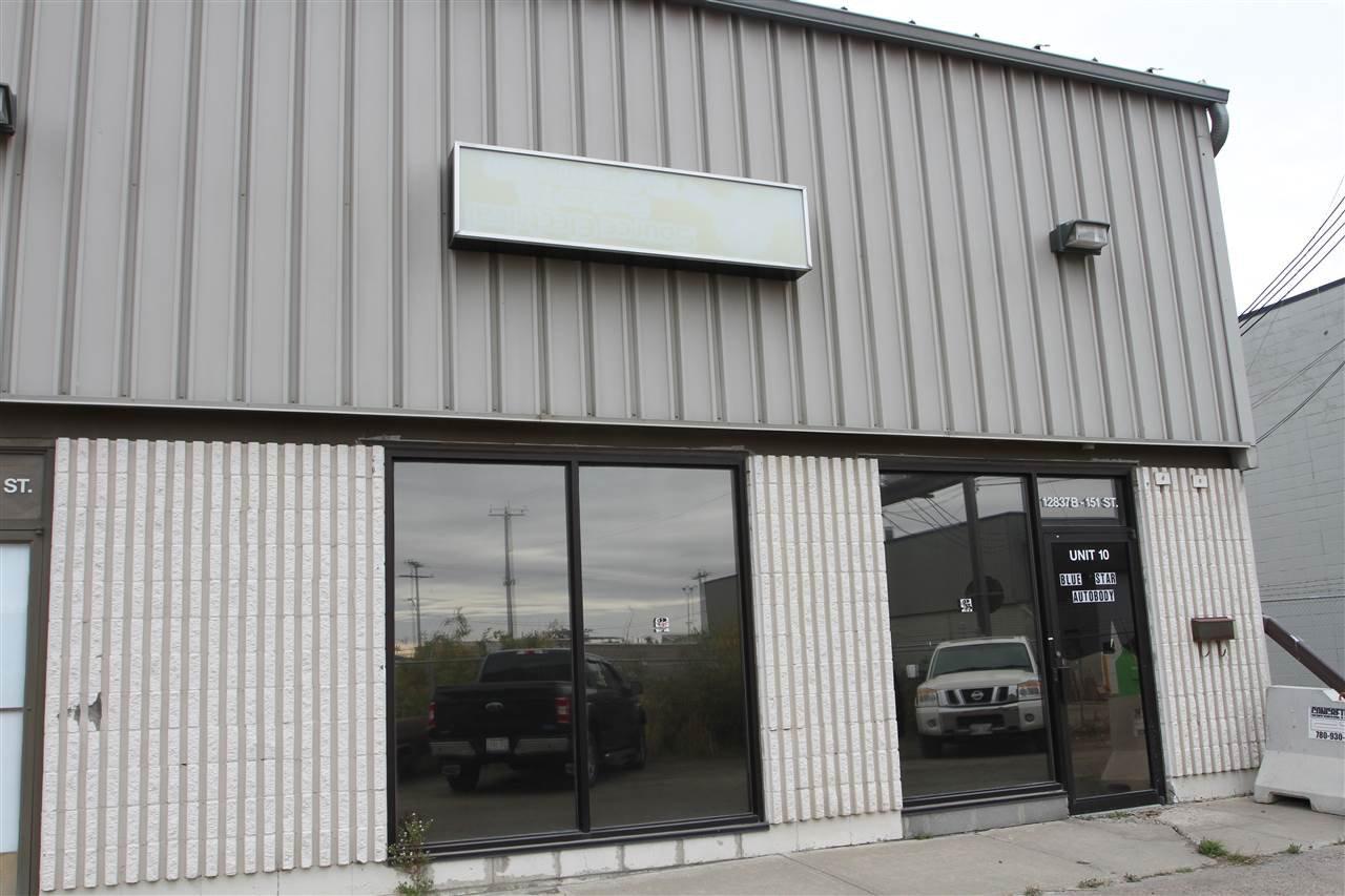 Main Photo: 10 12831 151 Street in Edmonton: Zone 40 Industrial for sale : MLS®# E4217741