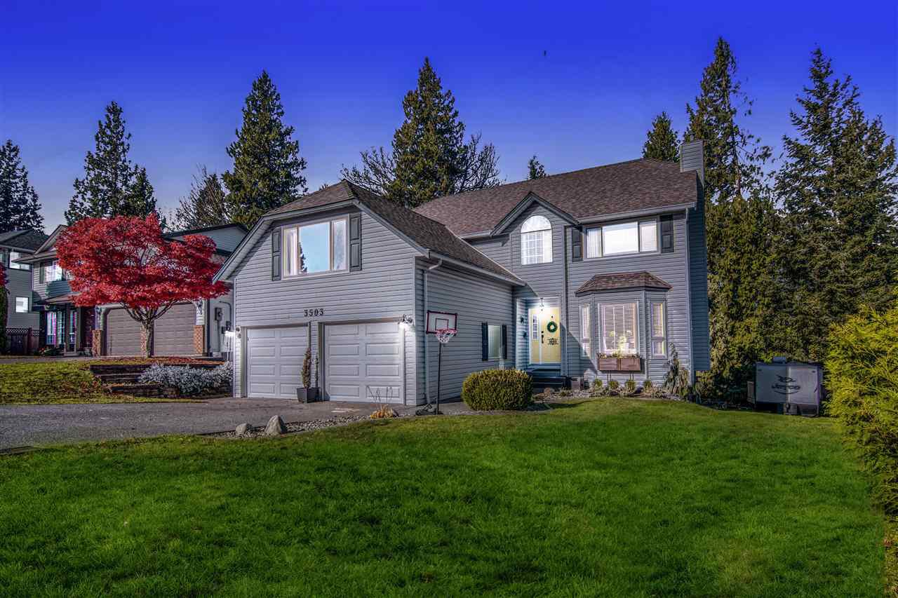 Main Photo: 3503 MT BLANCHARD Place in Abbotsford: Abbotsford East House for sale : MLS®# R2514708