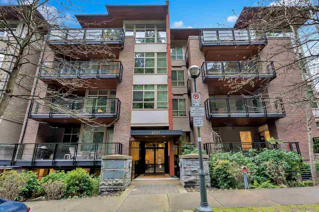 """Main Photo: 201 6333 LARKIN Drive in Vancouver: University VW Condo for sale in """"Legacy"""" (Vancouver West)  : MLS®# R2487622"""