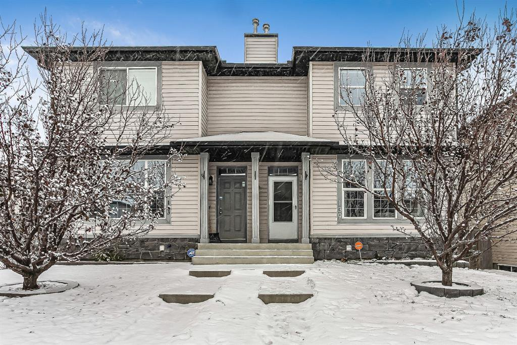 Main Photo: 139 Covemeadow Close NE in Calgary: Coventry Hills Semi Detached for sale : MLS®# A1044712